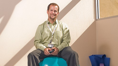 Mindbody CEO Rick Stollmeyer. (Business Times file photo)