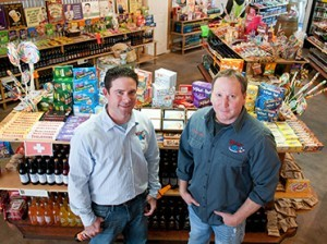 Ryan Morgan, left, and Robert Powells founded Camarillo-based Rocket Fizz six years ago. The novelty candy and soda company now has 54 franchised locations in 14 states.