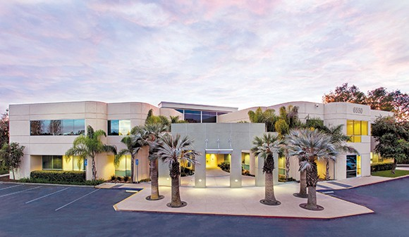 The office building at 6550 Hollister Ave. in Goleta has been sold to a South Coast investor. (photo courtesy of Hayes Commercial Group)