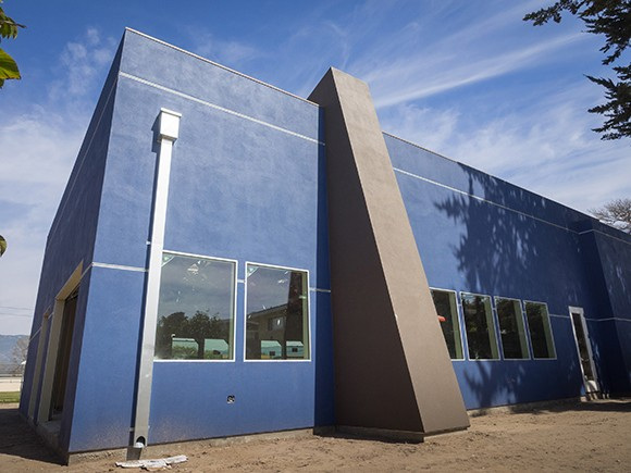 The new permanent home of the YMCA's youth programs in Isla Vista, the St. George Youth Center, will open later this spring. (Nik Blaskovich / Business Times photo)