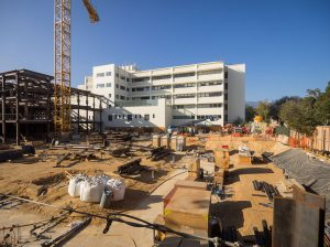 Santa Barbara Cottage Hospital is expanding to more than 700,000 square feet and making seismic improvements. (Nik Blaskovich)
